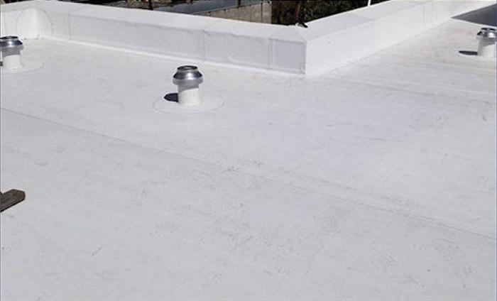 membranes de toitures installées sous vacuum (VRS)